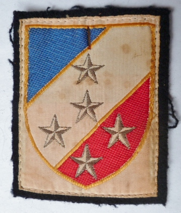 1° ARMEE STRASBOURG 1 PATCH INSIGNE TISSU ARMEE FRANCE