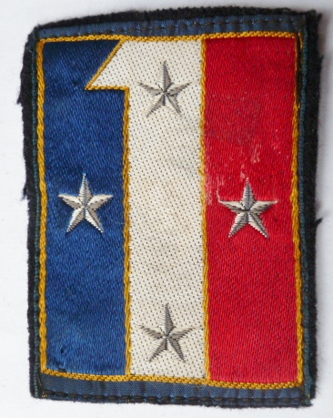 1° CA CORPS D'ARMEE PATCH INSIGNE TISSU ARMEE FRANCE