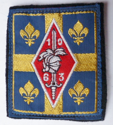 10° DB DIVISION BLINDEE INSIGNE PATCH TISSU ARMEE FRANCE
