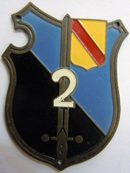 2° LGO LEGION GENDARMERIE OCCUPATION Allemagne 1945 FFA