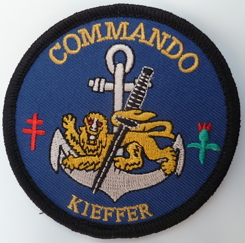 PATCH COMMANDO MARINE KIEFFER ORIGINAL FRANCE