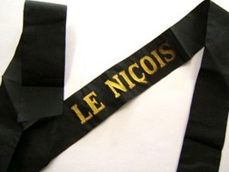 LE NICOIS avant 1939 RUBAN LEGENDE ORIGINAL CAP TALLY