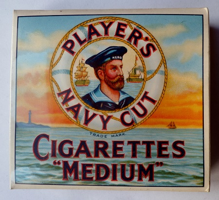 PAQUET DE 20 CIGARETTES JPS WWII PLAYERS NAVY CUT ORIGINAL 2° G