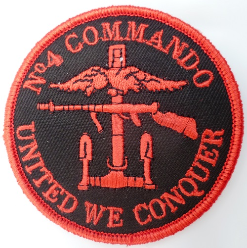 PATCH N°4 COMMANDO MARINE Amicale Fusco ORIGINAL SCRATCH