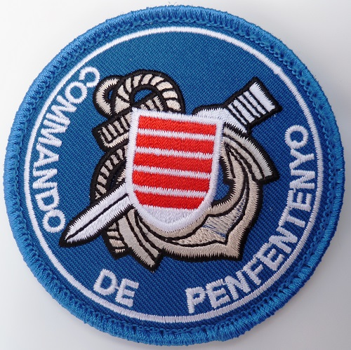 PATCH COMMANDO MARINE DE PENFENTENYO ORIGINAL SCRATCH
