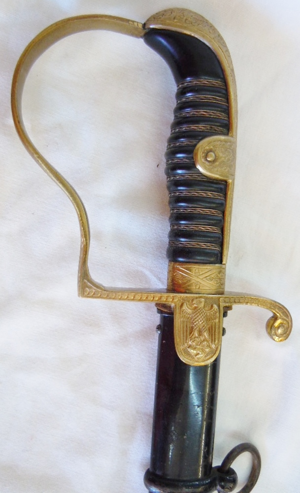 SABRE OFFICIER HEER WEHRMACHT ORIGINAL HOLLER