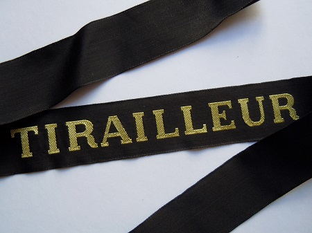 TIRAILLEUR RUBAN LEGENDE CAP TALLY ORIGINAL