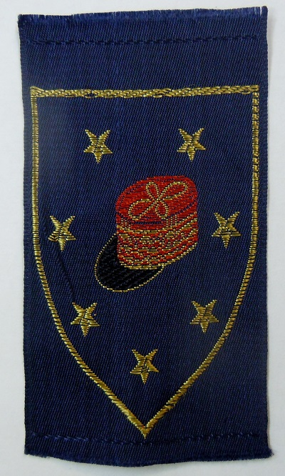 Patch tissu MARECHAL PETAIN ECOLE D'URIAGE 1941 ORIGINAL 2